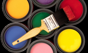 Professional Painting Services: Interior or Exterior Painting from Professional Painting Services (Up to 50% Off). Three Options Available.