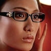 Vera Wang Women's Glasses with Single Vision Lenses