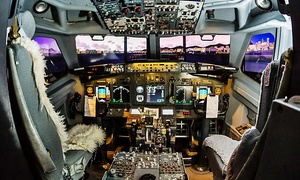 Sim 2 do: Boeing 737 Flight Simulator: Half-Hour (£50) or One-Hour Session (£69.99) with Sim2do (Up to 49% Off)