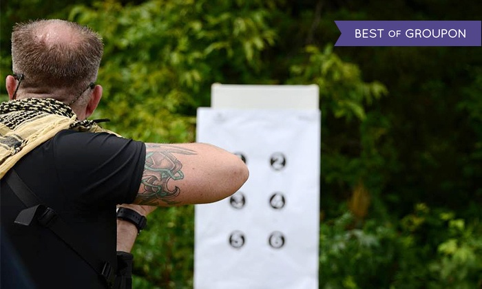 Sovereign Arms - Sovereign Arms: Advanced Defensive Rifle or Shotgun Course or a Two-Day NRA PPOTH Pistol Course at Sovereign Arms (50% Off)