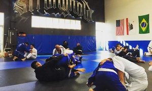 The Stronghold: Drop-In or Unlimited Jiu Jitsu or Muay Thai Classes at The Stronghold/Cobrinha San Diego (Up to 88% Off)