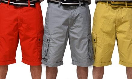 Rocawear Men's Poplin Cargo Shorts