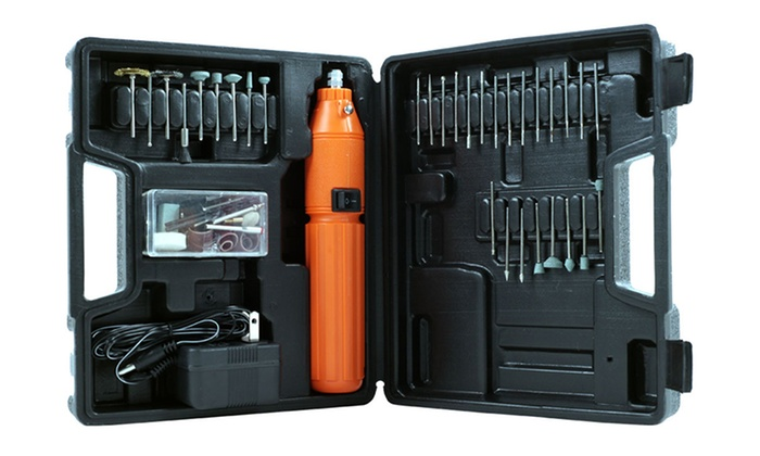 Stalwart 60 Piece 3.6V Cordless Rotary Tool Set