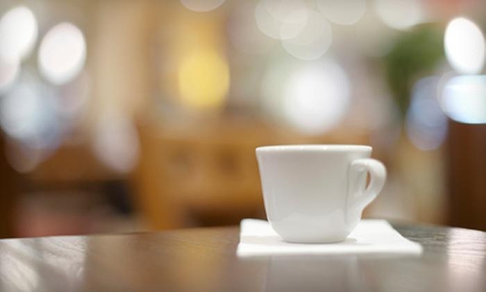 Cafe de Paris Louisville - Louisville: 5 Medium Lattes or 10 Medium Coffees or $10 for $20 Worth of Café Food for Two at Café de Paris in Louisville