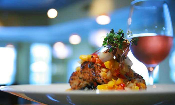 Terrace Grille at Bay Pointe Inn - Shelbyville, MI: $15 for $30 Worth of New American Cuisine at Terrace Grille at Bay Pointe Inn
