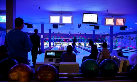 Bowling for Up to Six or Private Bowling Party with Drinks for Up to 25 at All Star Interactive (Up to 79% Off)