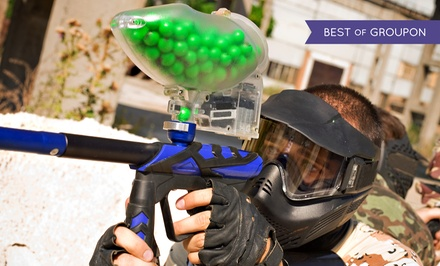 Paintball Package with Equipment and 500 Paintballs Per Person for One, Two, or Four (Up to 50% Off)