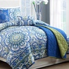 6-Piece Talila Comforter and Coverlet Set