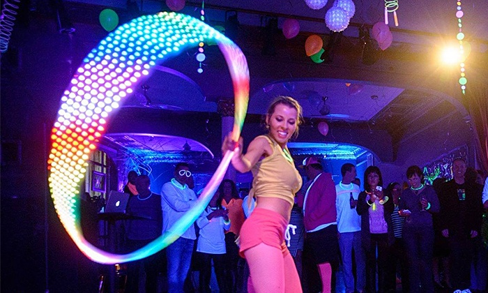 Katie Sunshine Hoops - The Brick Room: Three Hula-Hoop Fitness or Dance Classes for One or Two at Katie Sunshine Hoops (50% Off)