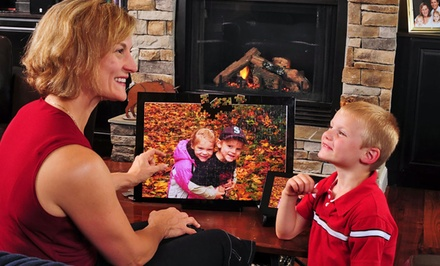 "groupon daily deal - 8""x10"" Custom Magnetic Puzzle from Heads Up Puzzle"