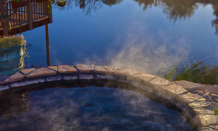 Riverbend Hot Springs, LLC - Riverbend Mineral Springs: 50-Minute Hot-Spring Private-Pool Soak For Two at Riverbend Hot Springs, (Up to 50% Off). Two Options Available.