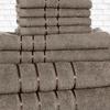 8-Piece 100% Egyptian Cotton Towel Set