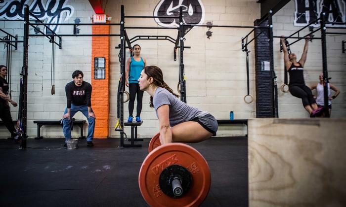 Crossfit Speakeasy - Belmar: One Month of Unlimited CrossFit or CrossFit Lite Classes at Crossfit Speakeasy (Up to 55% Off)