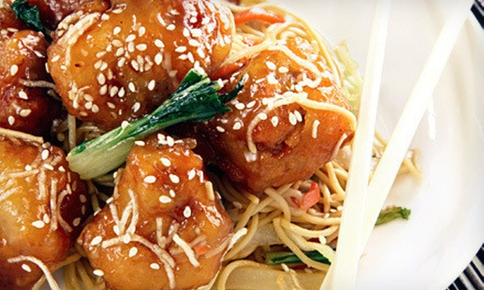 Chinese Noodle Cafe - The Loop: $20 Off Your Bill for Two, or Two Vouchers, Each Good for $14 Off Your Bill for Two at Chinese Noodle Cafe