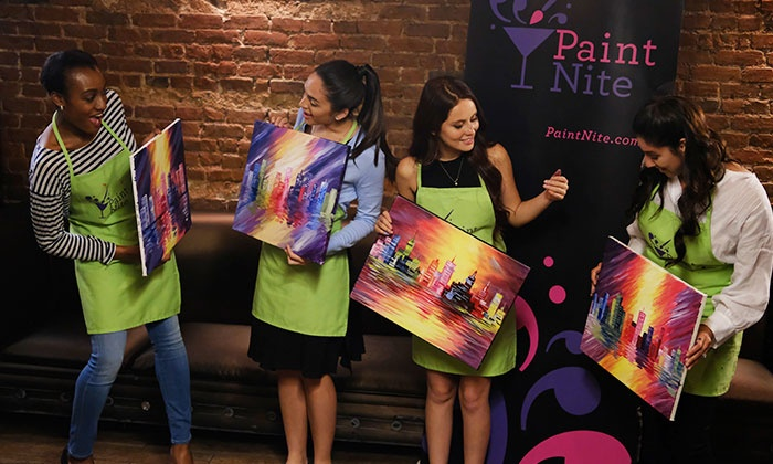 Drink Wine And Paint In Boston