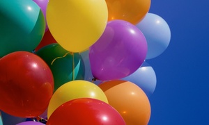Balloons N More: Balloon-in-a-Box Bouquet or $20 for $40 Worth of Balloons from Balloons N More