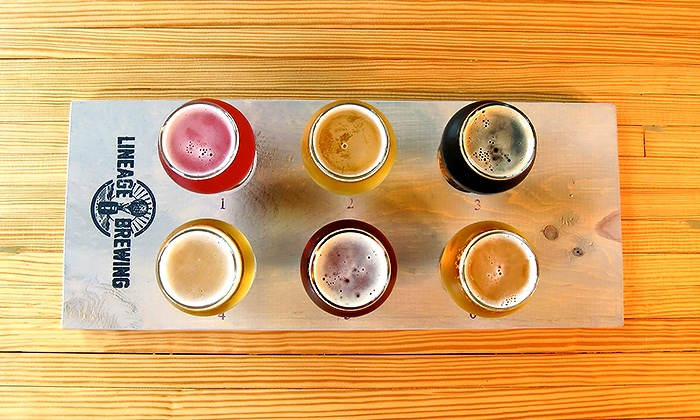 Lineage Brewing - Lineage Brewing: Brewery Tasting Package for Two, Four, or Six at Lineage Brewing (Up to 32% Off)