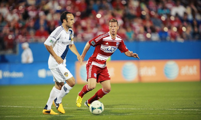 FC Dallas vs. LA Galaxy  - Toyota Stadium: FC Dallas MLS Soccer Game Against L.A. Galaxy Including On-Field Experience on August 11 (Up to 57% Off)