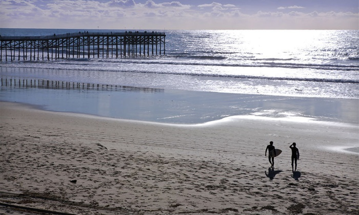 PB Surf Beachside Inn - San Diego, CA: One-Night Stay at PB Surf Beachside Inn in San Diego, CA. Multiple Check-In Days Available.