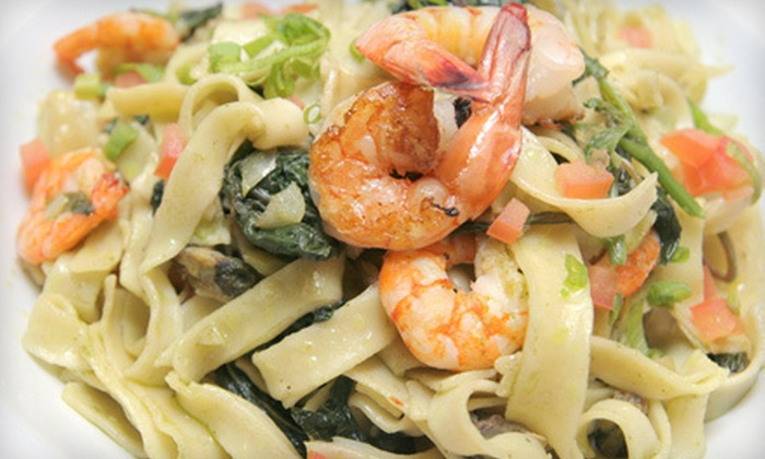 Mermaid Restaurant - Five Towns: $20 for $40 Worth of Upscale Italian and French Fare for Two or More at Mermaid Restaurant in Hewlett