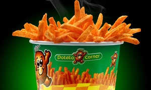 Potato Corner: Flavored French Fries at Potato Corner (Up to 40% Off). Two Options Available.