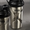 Jaxx 24 Oz Stainless Steel Shaker Cup (2-Pack)