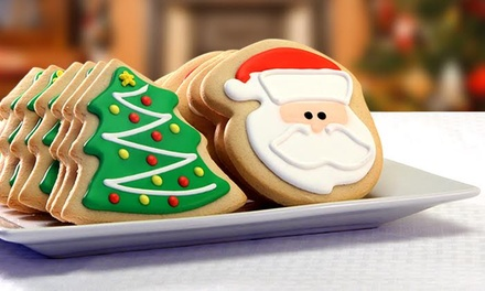 Cookie Gifts, plus Elf on the Shelf Cookie Tin, from Corsos Cookies (Up to 71% Off). Two Options Available.