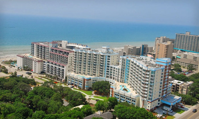 The Horizon at 77th - Myrtle Beach: One-, Two-, or Three-Night Stay for Two at The Horizon at 77th in Myrtle Beach, SC