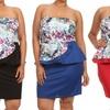 Plus Size Peplum Dress