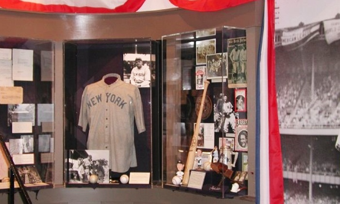 Babe Ruth Birthplace Museum and Sports Legends Museum at Camden Yards - Multiple Locations: Visit for 2 or 4 to the Babe Ruth Birthplace Museum and Sports Legends Museum at Camden Yards (Up to 52% Off)