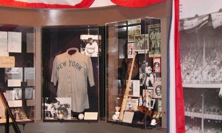 Visit for 2 or 4 to the Babe Ruth Birthplace Museum and Sports Legends Museum at Camden Yards (Up to 52% Off)