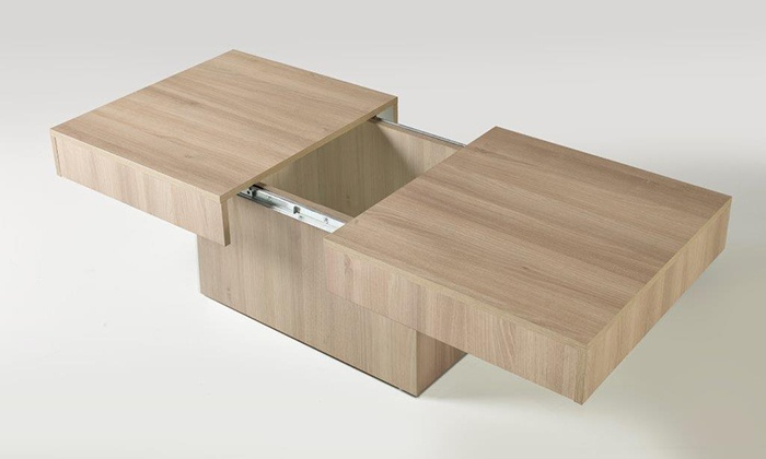 Coffee Table With Sliding Top Storage.Sliding Top Storage Coffee Table Groupon Goods