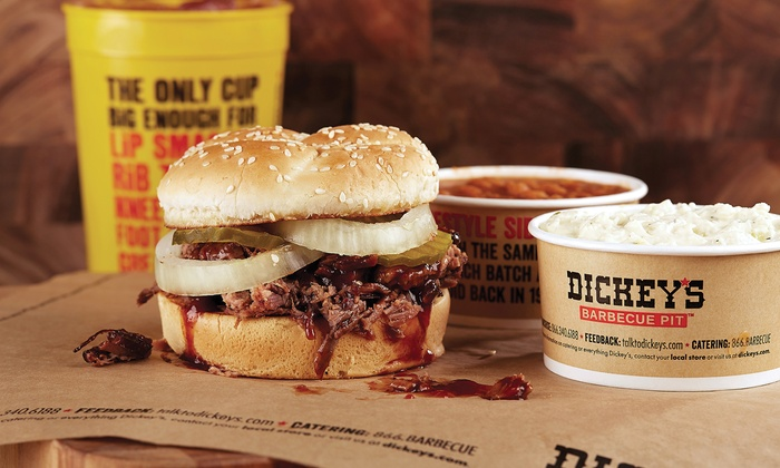 $20 Worth of Barbecue or Homestyle Meal for Up to Six at Dickey's Barbecue Pit (Up to 40% Off)
