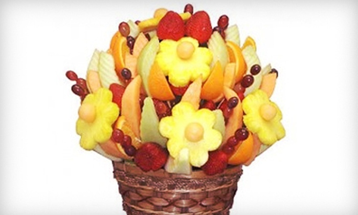 Fresh Fruit Bouquet Company - Wichita: $22 for a Fresh Fruit Bouquet from Fresh Fruit Bouquet Company ($45 Value)