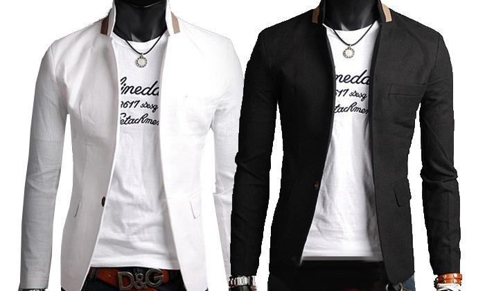 veste blazer homme pour t groupon shopping. Black Bedroom Furniture Sets. Home Design Ideas