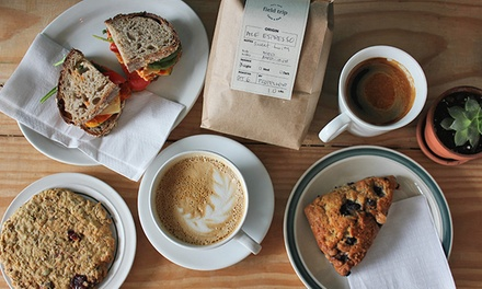40% Off Café Food and Drinksat Field Trip Cafe