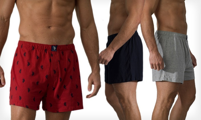Three-Pack of US Polo Assn. Boxers: $15 for a Three-Pack of US Polo Assn. Boxers ($30 List Price). Multiple Styles and Sizes Available. Free Shipping.