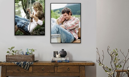 One 12x16 SwitchArt Magnetic Frame and One or Two 12x16 Custom PhotostoArt Prints from Art.com (66% Off)