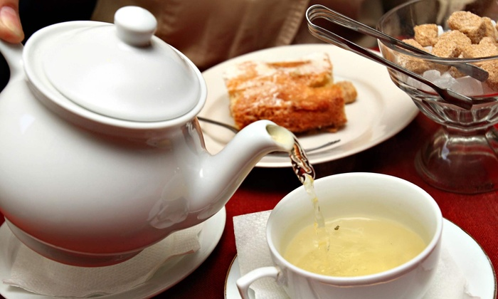 The Tea Leaf - Historic Downtown Waltham, MA: $16 for a Light Afternoon Tea for Two at Tea Leaf ($32 Value)