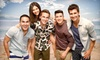 Summer Break Tour: Big Time Rush & Victoria Justice - Concord Pavilion: Summer Break Tour: Big Time Rush & Victoria Justice at Sleep Train Pavilion at Concord on June 23 (Up to $43 Value)