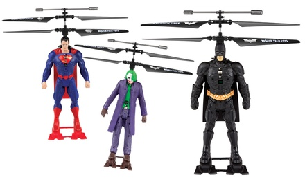 DC Comics Batman, Joker, or Superman 2-Channel Remote-Controlled Helicopter