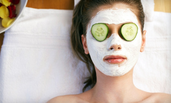 Skincare by Pevonia - Coral Terrace: Express Massage with Optional Facial at Skincare by Pevonia (Up to 55% Off)