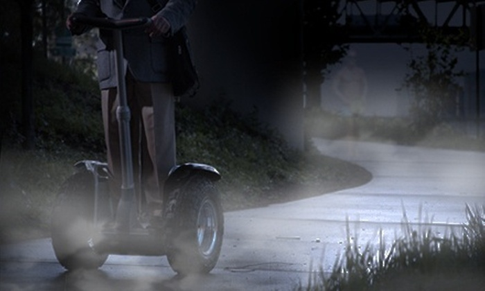 Greenville Glides - Greenville Glides: 1.5-Hour Haunted Segway Tour for One or Two from Greenville Glides (Half Off)