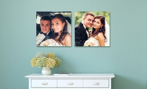 custom square metal photo prints from picture it on canvas groupon
