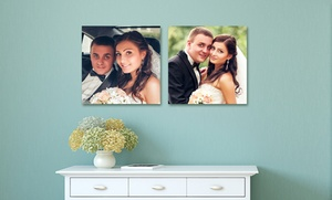 Picture it on Canvas: Custom Square Metal Photo Prints from Picture It On Canvas