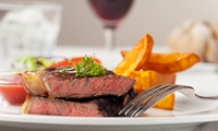 Steak and Wine for Two or Four at Casa Felice Italian Wine Bar and Bistro (Up to 57% Off)