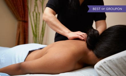 Massage and Facial at Mama Spa (Up to 59% Off). Three Options Available.