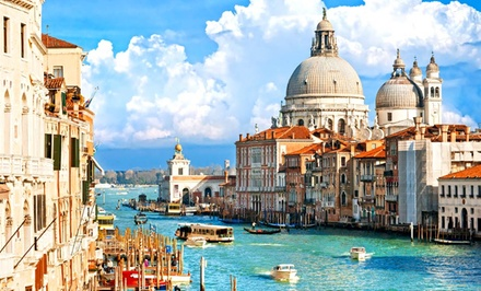 10-Day Italian Vacation with Airfare from NYC, Rail Passes, and Accommodations. Price/person Based on Double Occupancy.
