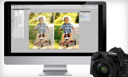 Four-Day Online Manual-Photography Class, Three-Day Online Photoshop Class, or Both from Chimpsy (Up to 80% Off)