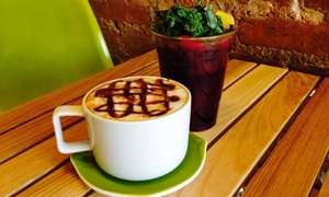 Green Juice Cafe: $10 for $16 Worth of Beverages and More — Green Juice Cafe